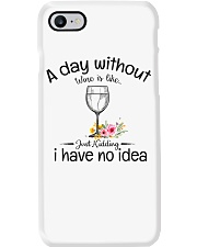 A day without Wine pillow Phone Case thumbnail