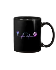 Wine Dog Heartbeat Mug thumbnail