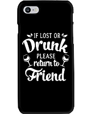 Wine If Lost Or Drunk Phone Case thumbnail