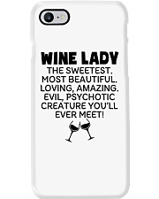 Wine Lady The Sweetest  Phone Case tile