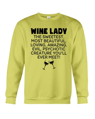 Wine Lady The Sweetest