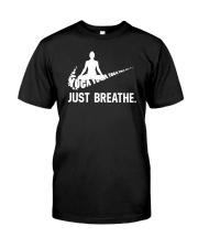 YOGA - BREATHE Classic T-Shirt thumbnail