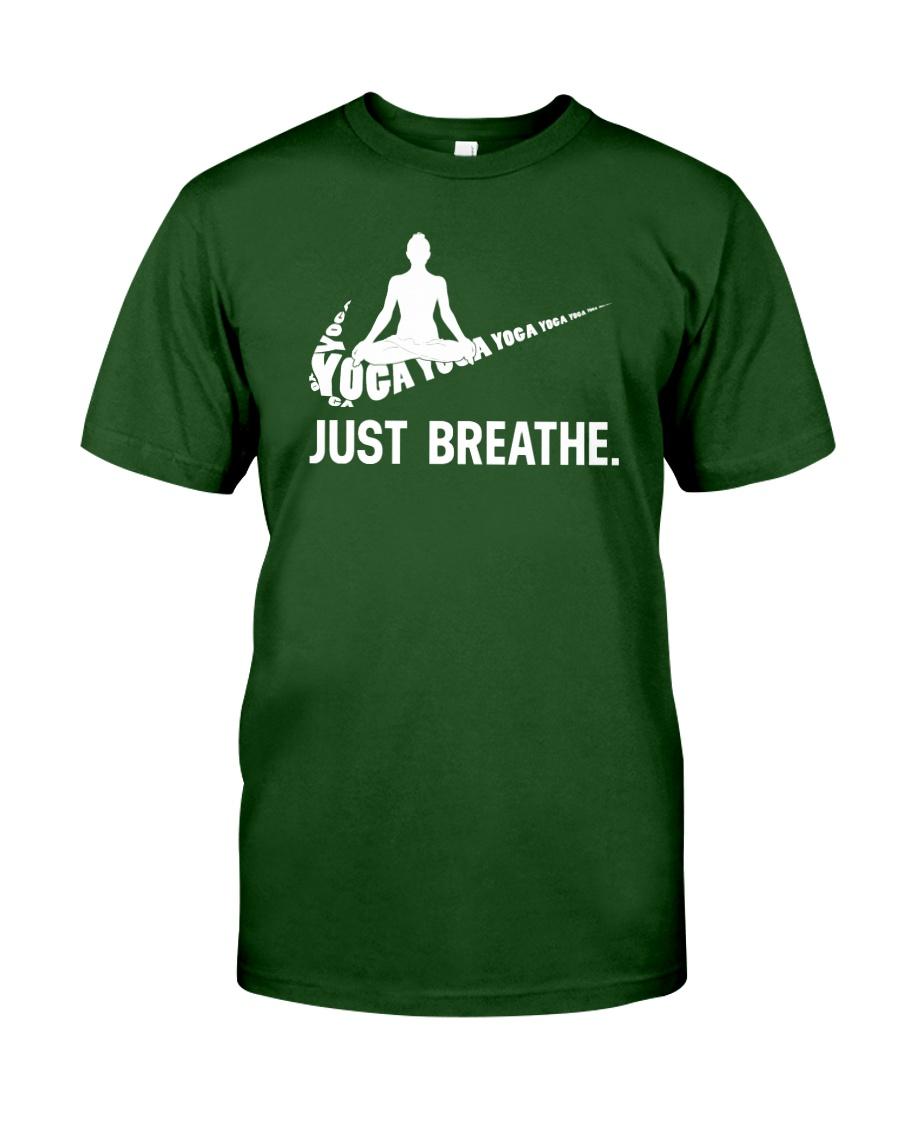 YOGA - BREATHE Classic T-Shirt