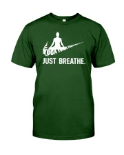 YOGA - BREATHE Classic T-Shirt front