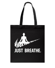 YOGA - BREATHE Tote Bag thumbnail