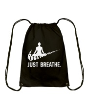 YOGA - BREATHE Drawstring Bag thumbnail