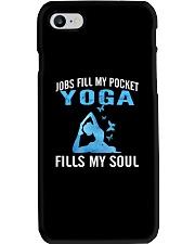 JOBS FILL MY POCKET YOGA FILLS MY SOUL Phone Case thumbnail