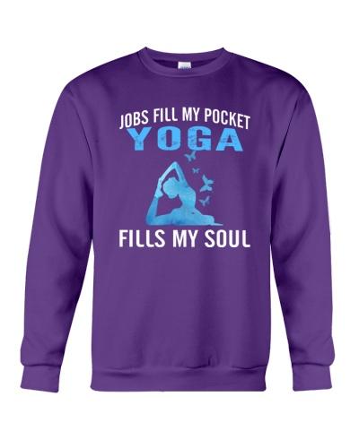 JOBS FILL MY POCKET YOGA FILLS MY SOUL