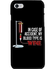 Wine In Case Of Accident Phone Case thumbnail