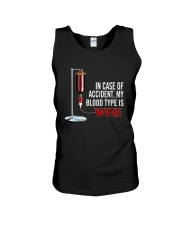 Wine In Case Of Accident Unisex Tank thumbnail