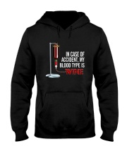 Wine In Case Of Accident Hooded Sweatshirt thumbnail