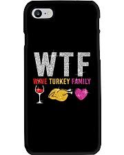 Wine Turkey Family Phone Case thumbnail