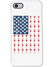 Dog Flag Mix Wine  Phone Case tile