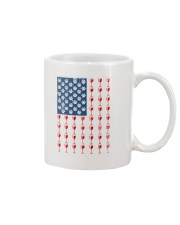 Dog Flag Mix Wine  Mug tile
