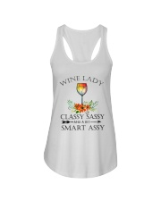 Wine  Lady pillow Ladies Flowy Tank thumbnail