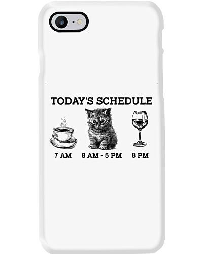 Today's Schedule Wine