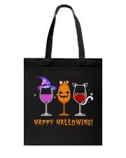 Happy Hallowine Tote Bag thumbnail