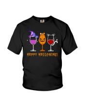 Happy Hallowine Youth T-Shirt thumbnail