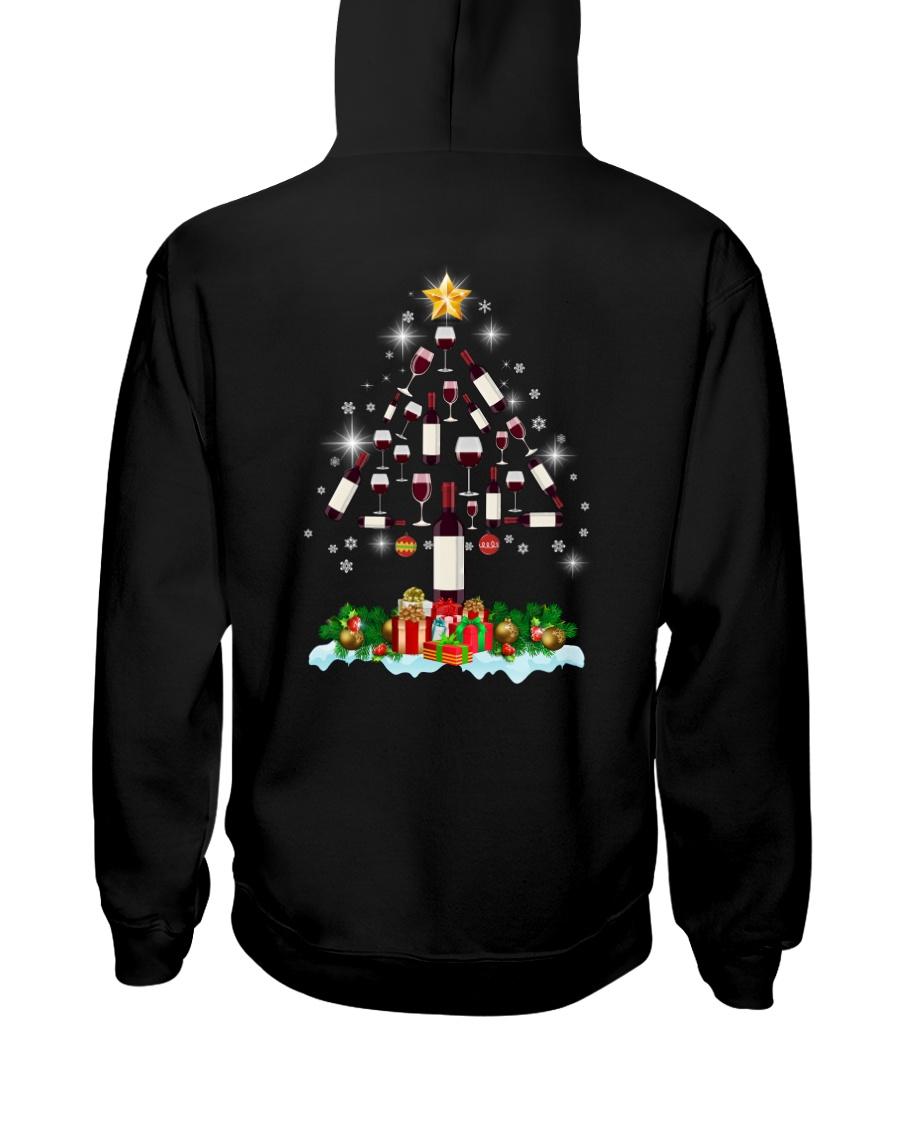 Wine Christmas Hooded Sweatshirt