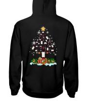 Wine Christmas Hooded Sweatshirt back
