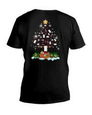 Wine Christmas V-Neck T-Shirt thumbnail