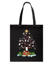 Wine Christmas Tote Bag thumbnail
