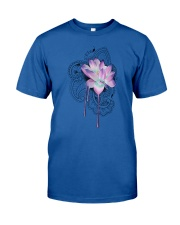 Yoga Lotus  Classic T-Shirt front