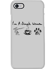 Yoga Coffee and Dogs Phone Case thumbnail