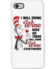 I Will Drink Wine Everywhere Phone Case thumbnail