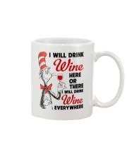 I Will Drink Wine Everywhere Mug thumbnail