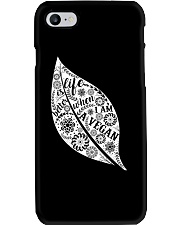 Life Is Bettet When I Am A Vegan Phone Case thumbnail