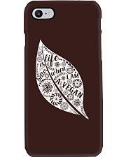 Life Is Bettet When I Am A Vegan Phone Case i-phone-7-case