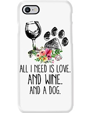Love Wine Dog pillow Phone Case tile