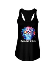 Yoga Zen As  Ladies Flowy Tank front