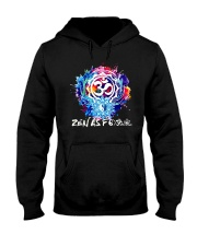 Yoga Zen As  Hooded Sweatshirt thumbnail