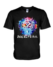 Yoga Zen As  V-Neck T-Shirt thumbnail