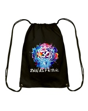 Yoga Zen As  Drawstring Bag thumbnail