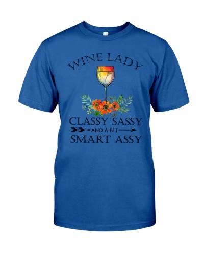 Wine Lady Classy Sassy