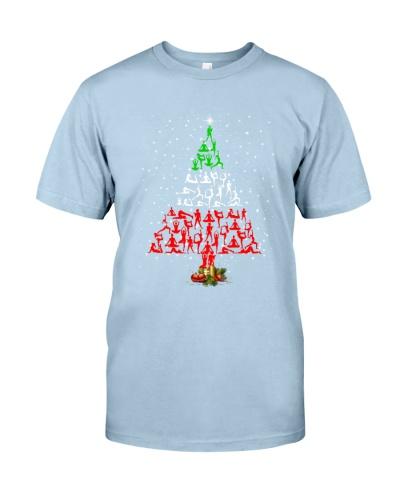 Yoga Christmas Tree