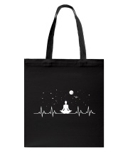 Yoga Heartbeat Tote Bag thumbnail