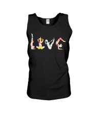 Yoga Love Flower Unisex Tank thumbnail