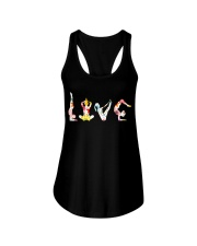 Yoga Love Flower Ladies Flowy Tank thumbnail