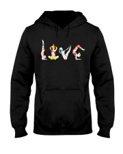 Yoga Love Flower Hooded Sweatshirt thumbnail