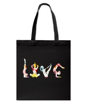 Yoga Love Flower Tote Bag thumbnail