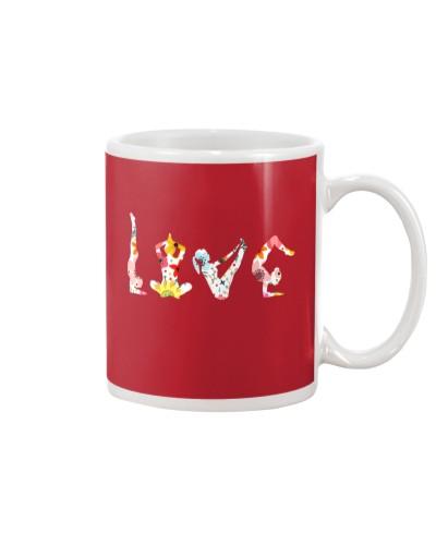 Yoga Love Flower
