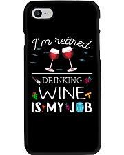 Drinking Wine is My Job  Phone Case thumbnail