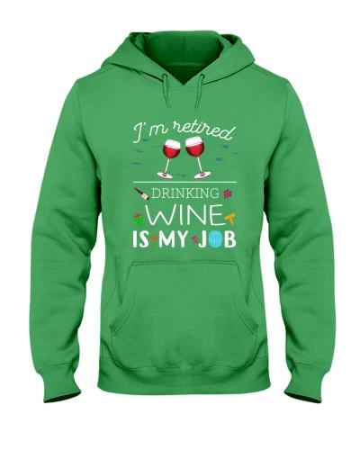 Drinking Wine is My Job