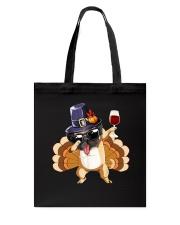 Wine And Dog  Tote Bag thumbnail