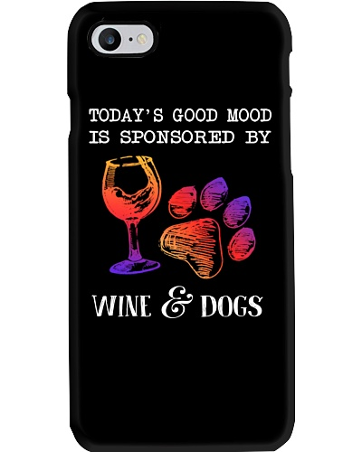 Today's Good Mood Is Sponsored By Wine And Dogs