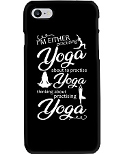 I'm Either Practising Yoga Phone Case thumbnail